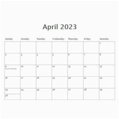 Kids By Kids   Wall Calendar 11  X 8 5  (12 Months)   Stz1og2xafxv   Www Artscow Com Apr 2015