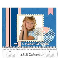 Kids By Kids   Wall Calendar 11  X 8 5  (18 Months)   A7uc01tma5bo   Www Artscow Com Cover