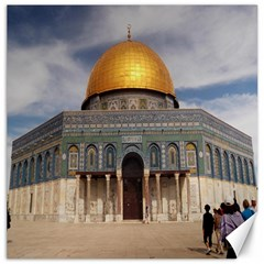 The Dome Of The Rock  Canvas 12  X 12  (unframed) by AlfredFoxArt