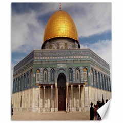 The Dome Of The Rock  Canvas 20  X 24  (unframed) by AlfredFoxArt