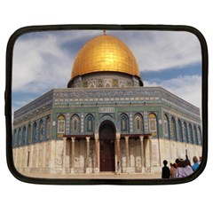 The Dome Of The Rock  Netbook Sleeve (xl) by AlfredFoxArt