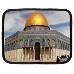 The Dome Of The Rock  Netbook Sleeve (xxl) by AlfredFoxArt