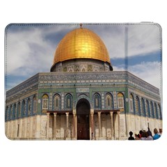 The Dome Of The Rock  Samsung Galaxy Tab 7  P1000 Flip Case by AlfredFoxArt