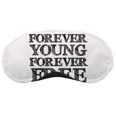 Forever Young Sleeping Mask by AlfredFoxArt