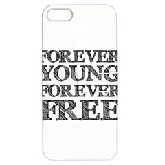 Forever Young Apple Iphone 5 Hardshell Case With Stand by AlfredFoxArt