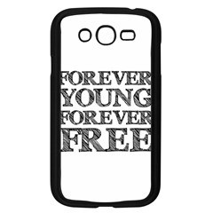 Forever Young Samsung Galaxy Grand Duos I9082 Case (black) by AlfredFoxArt