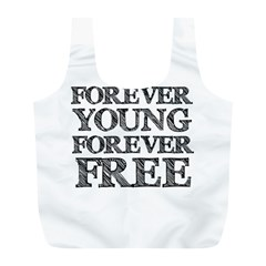 Forever Young Reusable Bag (l)