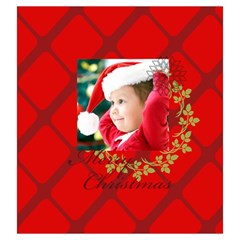 Xmas By Xmas   Drawstring Pouch (large)   06etrpq99map   Www Artscow Com Front