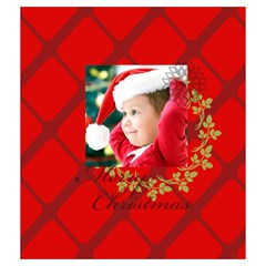 Xmas By Xmas   Drawstring Pouch (medium)   27tww8zsy2in   Www Artscow Com Back