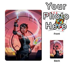 Netrunner Alts By Joao Costa   Multi Purpose Cards (rectangle)   4ezvfjwfm1pr   Www Artscow Com Front 1
