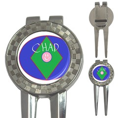 Chadart Golf Pitchfork & Ball Marker by crkanoff