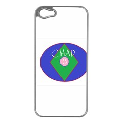 Chadart Apple iPhone 5 Case (Silver) by crkanoff