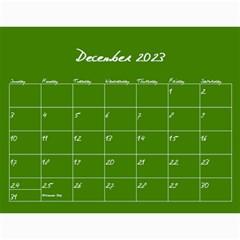 Polka Dot Calendar 2015 By Zornitza   Wall Calendar 11  X 8 5  (12 Months)   Yug5sseyjvvv   Www Artscow Com Dec 2015