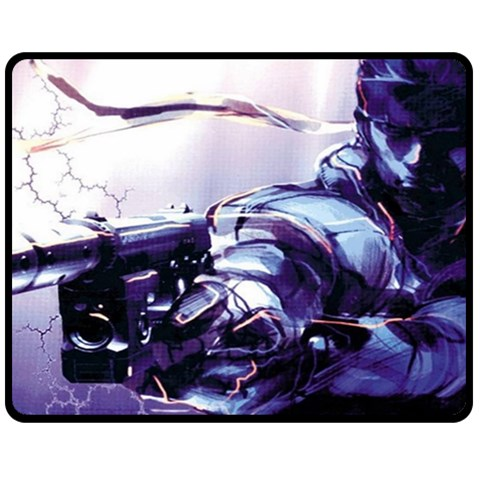 Solid Snake Blanket By Maddi S    Fleece Blanket (medium)   7zsroaf5rjn3   Www Artscow Com 60 x50 Blanket Front