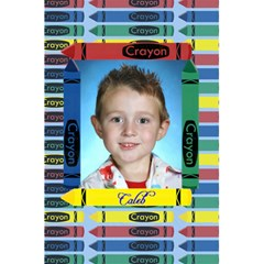 Crayon Notebook By Chere s Creations   5 5  X 8 5  Notebook   K8pna7su56cu   Www Artscow Com Front Cover