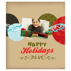 Merry Christmas By Merry Christmas   Drawstring Pouch (small)   9uqid8hci447   Www Artscow Com Front
