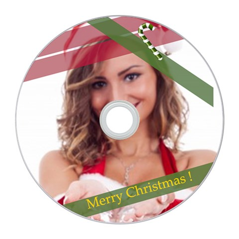 Merry Christmas By Clince   Cd Wall Clock   7uw6rrm47iwj   Www Artscow Com Front