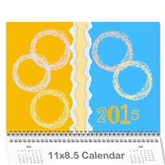 Colorful Calendar 2015 Calendar By Zornitza   Wall Calendar 11  X 8 5  (12 Months)   Mfg3hiukapaz   Www Artscow Com Cover
