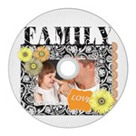 family - CD Wall Clock