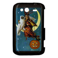 Vintage Halloween Witch HTC Wildfire S A510e Hardshell Case by EndlessVintage