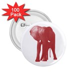 Pink Elephant 2.25  Button (100 pack)