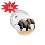 Elephant Sparkle 1.75  Button (10 pack)