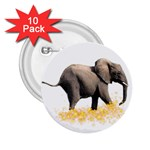 Elephant Sparkle 2.25  Button (10 pack)