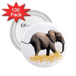 Elephant Sparkle 2.25  Button (100 pack)