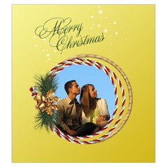 Christmas Joy Drawstring Pouch (large) By Deborah   Drawstring Pouch (large)   Bj050srm3blq   Www Artscow Com Back