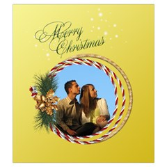 Christmas Joy Drawstring Pouch (medium) By Deborah   Drawstring Pouch (medium)   H67p79b3ccbt   Www Artscow Com Back