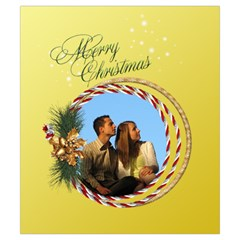Christmas Joy Drawstring Pouch (small) By Deborah   Drawstring Pouch (small)   Gv8lu80wr319   Www Artscow Com Back
