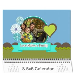 Family By Family   Wall Calendar 8 5  X 6    He7n157tmlwa   Www Artscow Com Cover