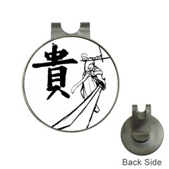 A Swordsman s Honor Hat Clip With Golf Ball Marker by Viewtifuldrew