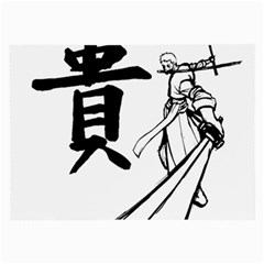 A Swordsman s Honor Glasses Cloth (large, Two Sided) by Viewtifuldrew