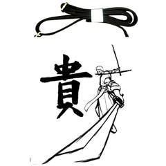 A Swordsman s Honor Shoulder Sling Bag by Viewtifuldrew