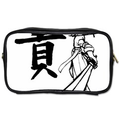 A Swordsman s Honor Travel Toiletry Bag (one Side) by Viewtifuldrew