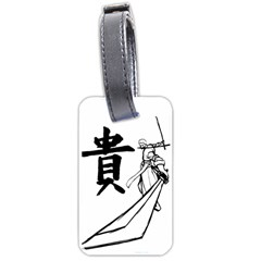 A Swordsman s Honor Luggage Tag (two Sides) by Viewtifuldrew
