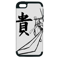 A Swordsman s Honor Apple Iphone 5 Hardshell Case (pc+silicone) by Viewtifuldrew