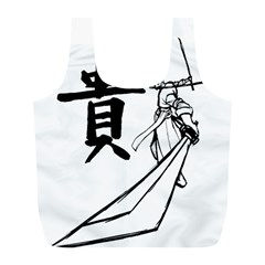 A Swordsman s Honor Reusable Bag (l) by Viewtifuldrew
