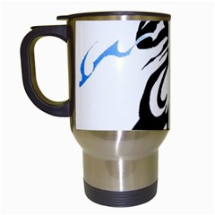 Alpha Dog Travel Mug (white)