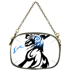 Alpha Dog Chain Purse (two Sided)  by Viewtifuldrew
