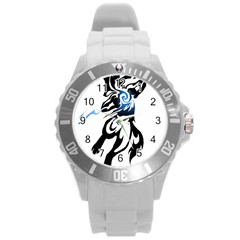 Alpha Dog Plastic Sport Watch (large) by Viewtifuldrew
