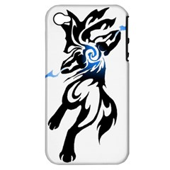 Alpha Dog Apple Iphone 4/4s Hardshell Case (pc+silicone) by Viewtifuldrew