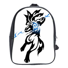 Alpha Dog School Bag (xl) by Viewtifuldrew
