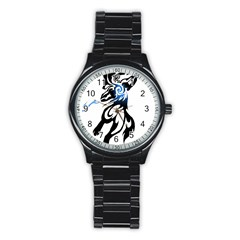 Alpha Dog Sport Metal Watch (black) by Viewtifuldrew