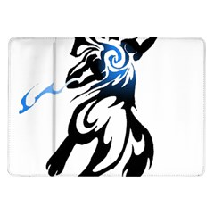 Alpha Dog Samsung Galaxy Tab 10 1  P7500 Flip Case by Viewtifuldrew