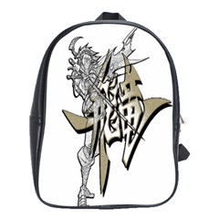 The Flying Dragon School Bag (large) by Viewtifuldrew