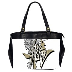 The Flying Dragon Oversize Office Handbag (two Sides) by Viewtifuldrew