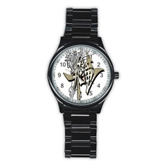 The Flying Dragon Sport Metal Watch (black) by Viewtifuldrew