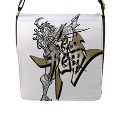 The Flying Dragon Flap Closure Messenger Bag (large) by Viewtifuldrew